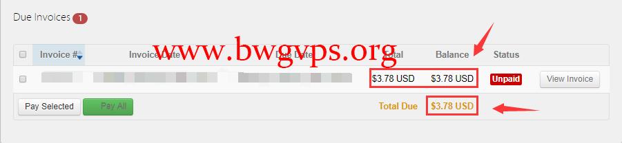 BandwagonHost 搬瓦工再次调整购买新 ip 价格为 3.78 美元