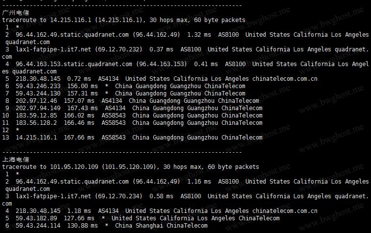 BestTrace.sh-一个快速测试VPS回程路由的测试脚本
