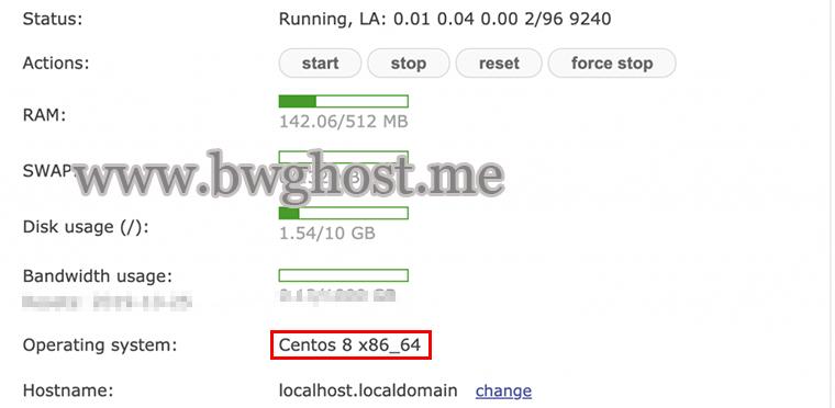 搬瓦工 VPS 已支持 CentOS 8 系统自带 Google BBR 加速